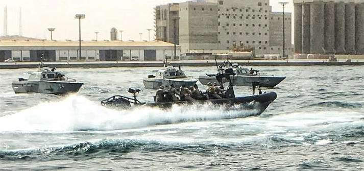 سلطات السعودية دشنت زورقين فرنسيين بهدف حماية ناقلات النفط في البحر الأحمر