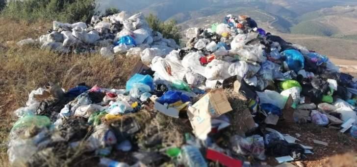 النشرة: اشكال على خلفية رمي النفايات بين كفررمان وكفرتبنيت