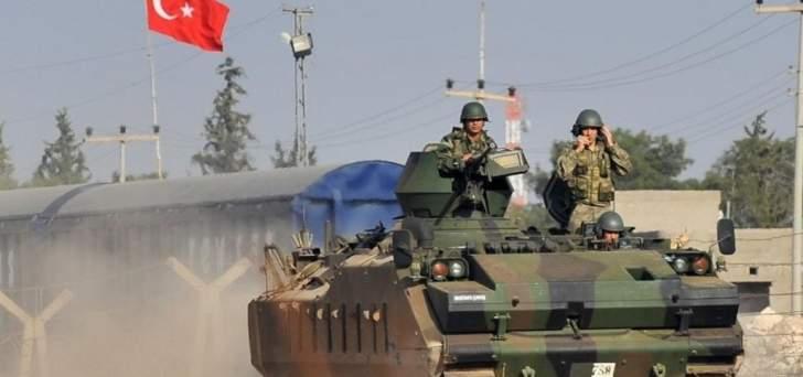 الجيش التركي يعلن إحكام السيطرة على جنديرس في عفرين