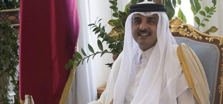 أمير قطر: كلي أمل أن تسفر القمة الخليجية عن نتائج تحافظ على أمن الخليج