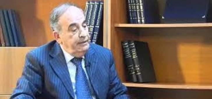 وفاة وزير الدولة لشؤون مجلس النواب في حكومة تصريف الاعمال علي قانصو