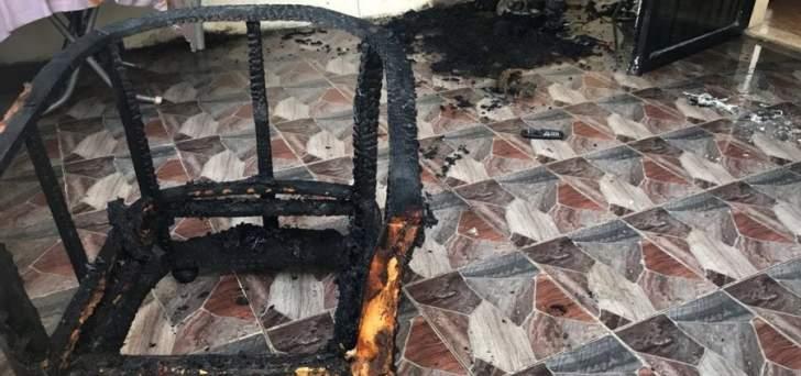الدفاع المدني: إخماد حريق داخل منزل في الصرفند والأضرار مادية