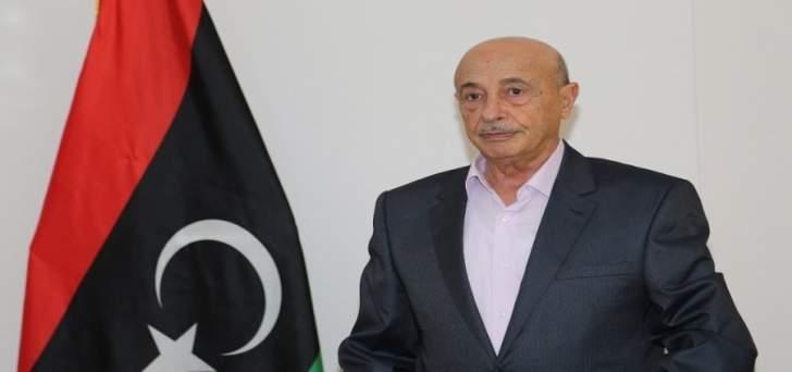 رئيس برلمان ليبيا: حكومة الوفاق غير شرعية وهشَّة ولا تملك جيشاً