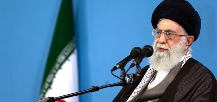 خامنئي: هناك أزمة اقتصادية كبيرة في ايران ونطلب من النظام حلها