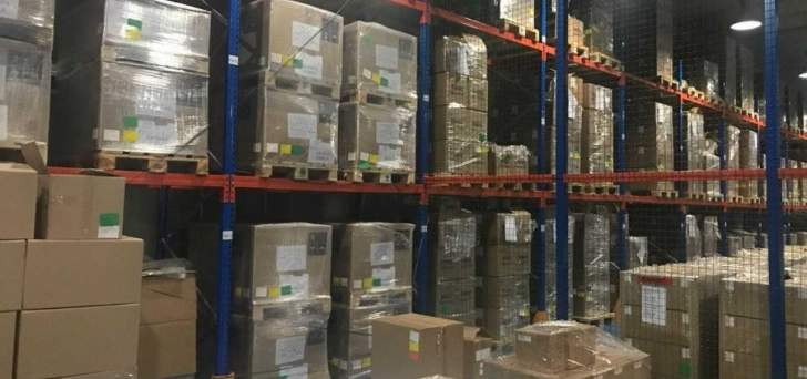 الجمارك ضبط كمية كبيرة من الأدوية منتهية الصلاحية في بلدة الدامور