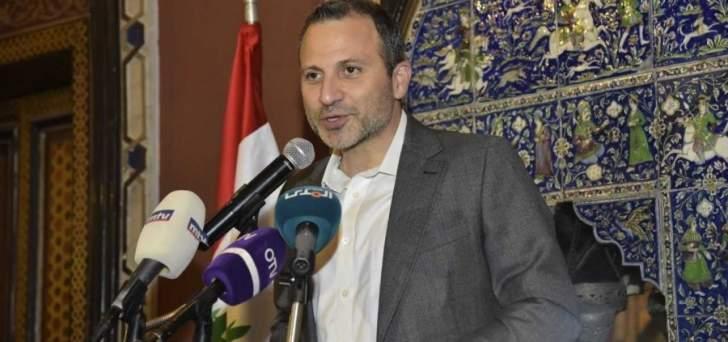 الشرق الأوسط:باسيل تمنى على المعلم ايجاد حل للمطلوبين للخدمة الالزامية