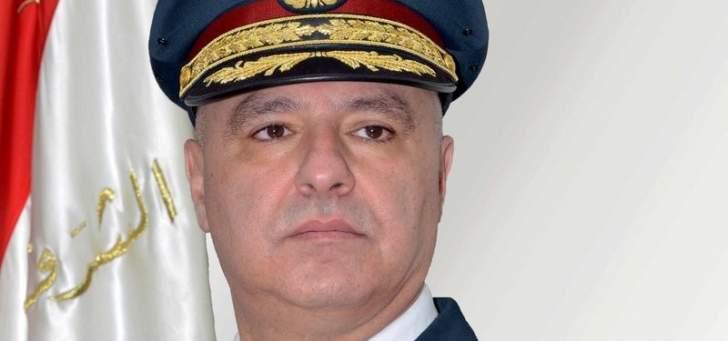 قائد الجيش التقى النائب وليد جنبلاط وعرض معه الأوضاع العامة