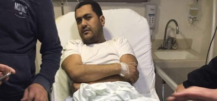 الجيش: اصابة محمد حمدان بجروح اثناء قيامه بفتح باب السيارة التي انفجرت بصيدا