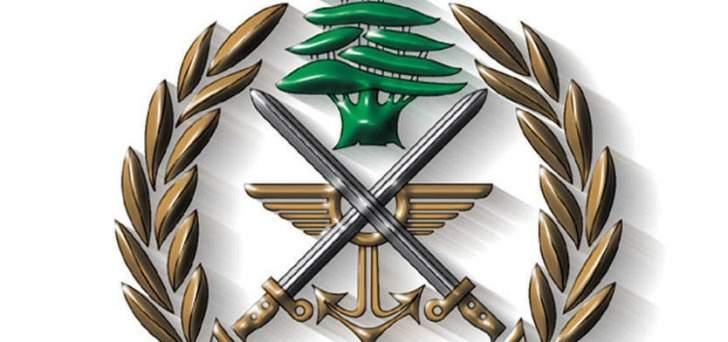 الجيش: توقيف شخض لانتمائه إلى مجموعة الإرهابي أسامة منصور