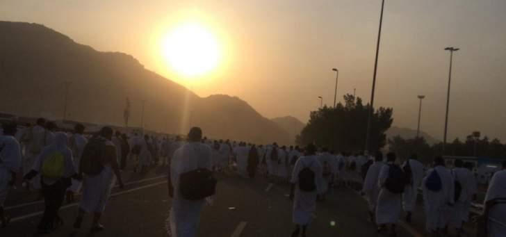 المديرية العامة للجوازات السعودية تعلن وصول 570 ألف حاج حتى أمس