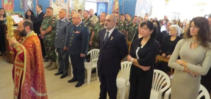 كردية: تضحيات شهداء الجيش شكلت العناوين المضيئة لمحطة هي الاكثر خطورة في تاريخنا الحديث