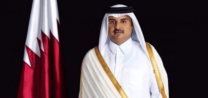 أمير قطر أكد لعباس موقف الدوحة الثابت من القضية الفلسطينية