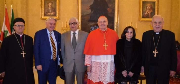 عيد بقداس مار مارون من روما: للموارنة دور بارز في تخفيف وهج التعصب