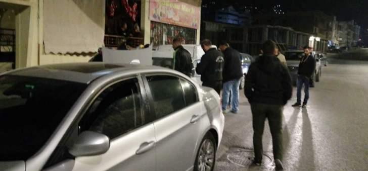 السيارة التي تم الإشتباه بها في حارة صيدا مسروقة