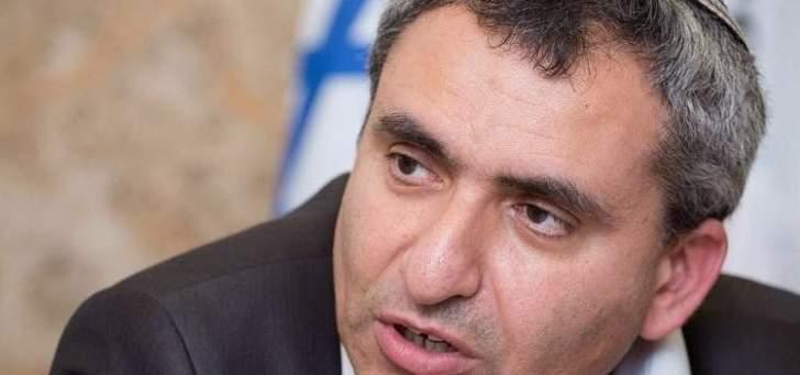 وزير اسرائيلي:عدد من الدول قد تحذو حذو أميركا وتنقل السفارات إلى القدس