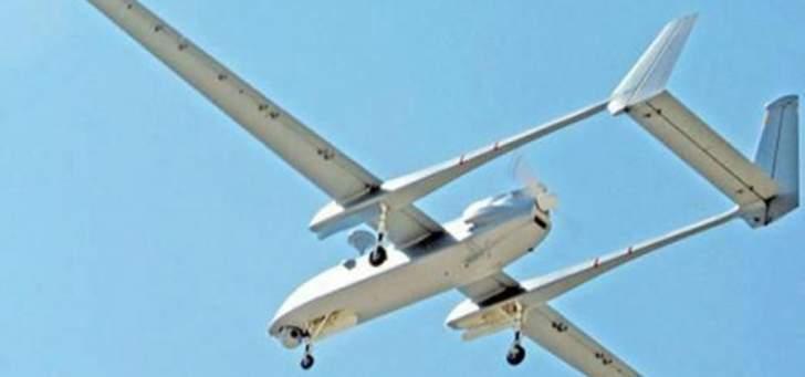 النشرة:طائرة إستطلاع إسرائيلية تنفذ طلعات إستكشافية فوق العرقوب وحاصبي