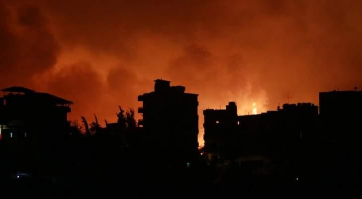 الحرائق تغزو لبنان