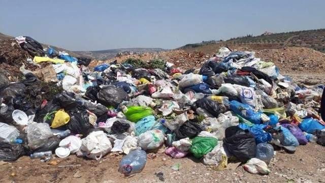"""مكبات النفايات العشوائية تتوزع في بلدات النبطية ومعمل الفرز في """"الكوما"""""""