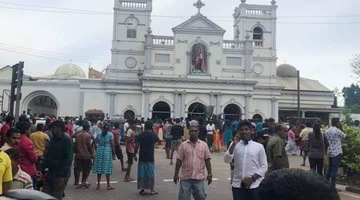 إنفجارات عيد الفصح في سريلانكا