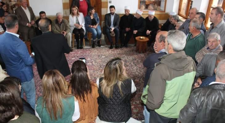 تيمور جنبلاط التقى وفودا أهلية وبلدية وحزبية في المختارة