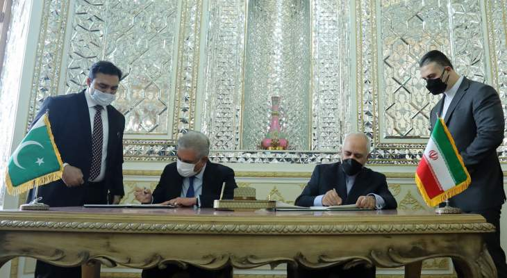 توقيع اتفاقية لإنشاء أسواق حدودية بين إيران وباكستان