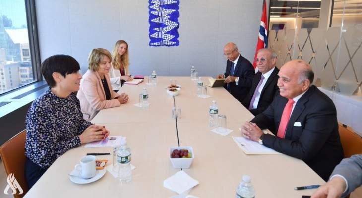 وزير الخارجية العراقية: نجحنا في عقد لقاءات بين دول المنطقة لحل الخلافات والأزمات