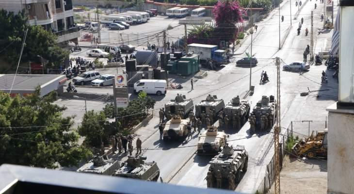 الجيش: توقيف شخصين في محلة الكفاءات لتورطهما في إطلاق نار أمام إحدى محطات المحروقات
