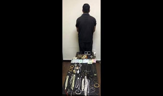 شعبة المعلومات أوقفت سارق منازل في زغرتا بالجرم المشهود أثناء بيعه مجوهرات مسروقة