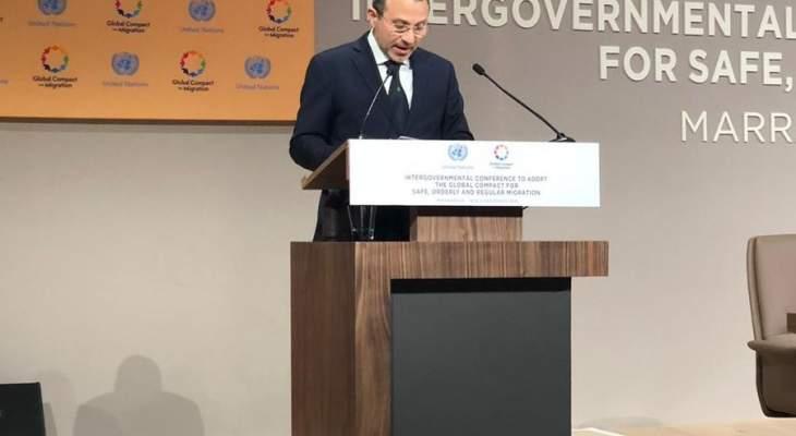 باسيل: هناك قوى دولية مستفيدة من عدم عودة النازحين وهذه مؤامرة على لبنان