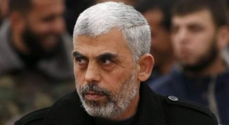 السنوار: حماس يمكن أن تقدم مقابلا جزئيا لتفرج إسرائيل عن معتقلين