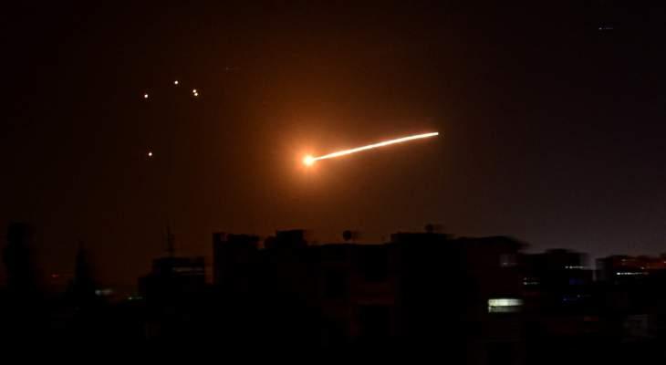 """مصدر لـ""""سانا"""": 4 قتلى و4 جرحى نتيجة العدوان الإسرائيلي الجوي الذي استهدف حماة فجرا"""