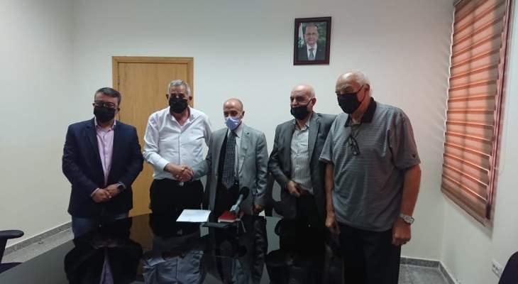 علي ياغي تسلّم رئاسة اتحاد بلديات بعلبك من جمال عبد الساتر
