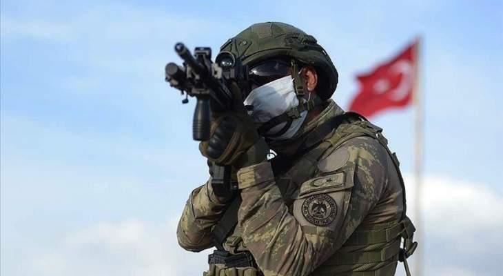 """الدفاع التركية: القضاء على إرهابيَين حاولا التسلل لمنطقة عملية """"نبع السلام"""" شمالي سوريا"""