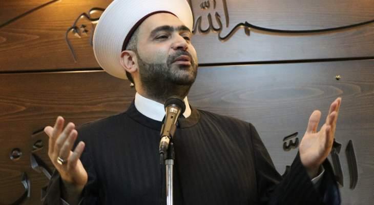 الشيخ القطان: علينا أن نتنبه أن فلسطين يجب ان تبقى هي البوصلة