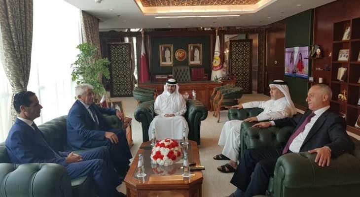 وفد من ديوان المحاسبة في قطر في زيارة رسمية