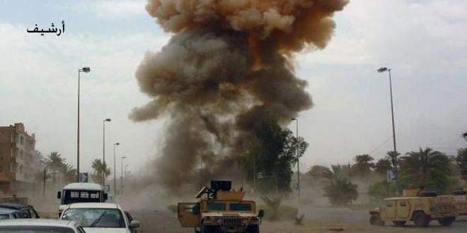عبوة ناسفة استهدفت رتلاً لقوات التحالف الأميركي في العراق