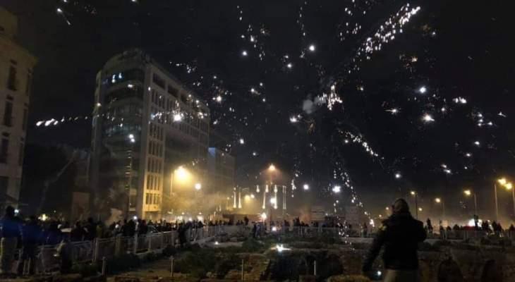 الجيش اللبناني يُعيد الهدوء الى وسط بيروت بعد تأخر دام 5 ساعات
