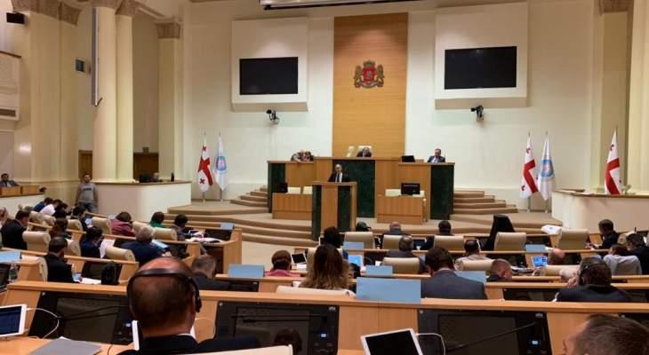 شبيب ضيف شرف في الجمعية العمومية للجمعية البرلمانية الأرثوذكسية
