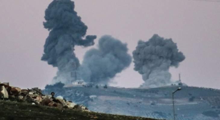 مقتل مدني وإصابة 3 آخرين بقصف الجيش التركي على قرية ميركان غرب عفرين