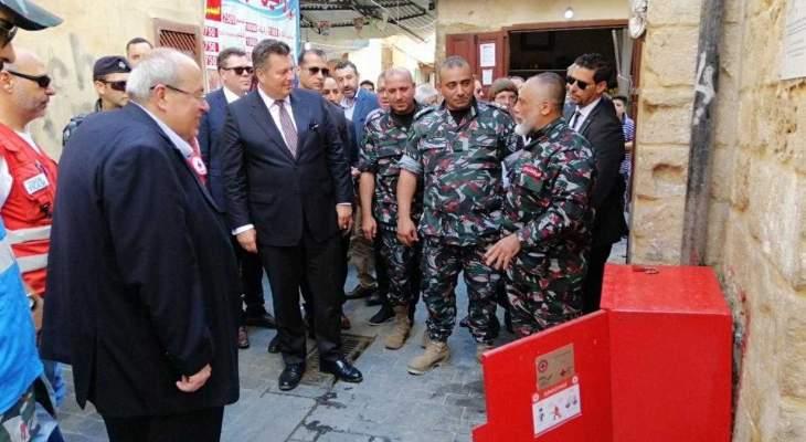 وزير داخلية ولاية برلين زار صيدا: إستقرار البلديات من إستقرار أمن لبنان