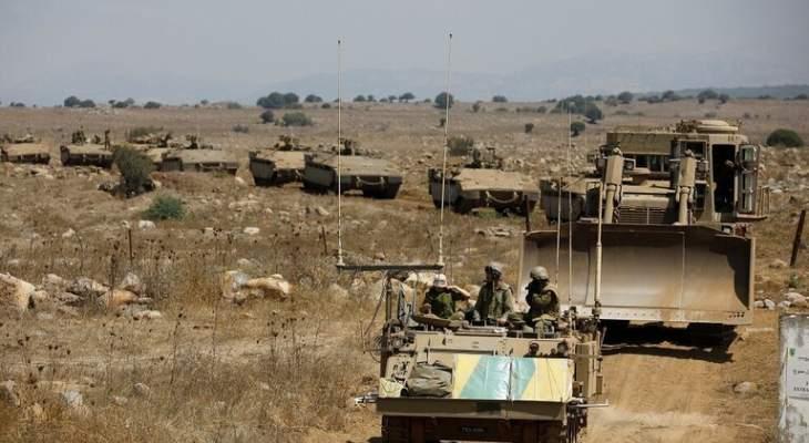 النشرة: قوة اسرائيلية مشطت الطريق العسكري المحاذي للجدار العازل