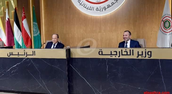 LBC: باسيل يلتقي الرئيس عون في هذه الاثناء في قصر بعبدا