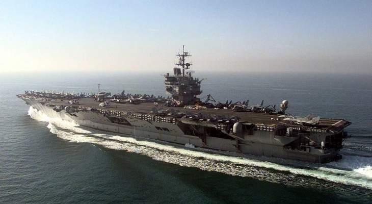 البنتاغون يقيل قائد حاملات طائرات أميركية أصيب طاقمها بكورونا