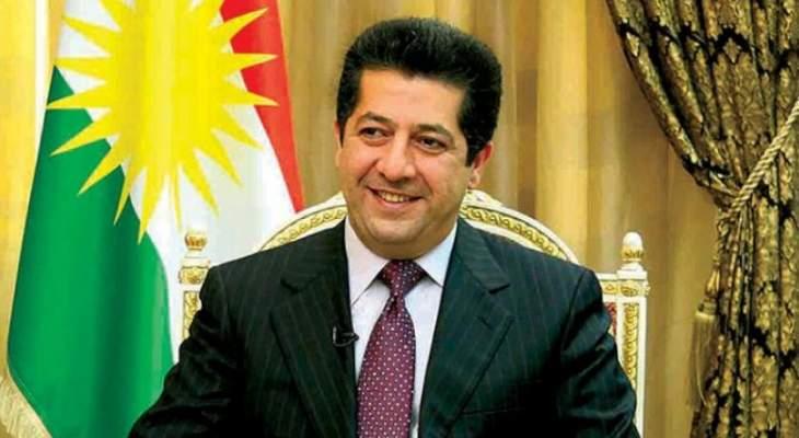 رئيس كردستان: تسليم جميع العائدات النفطية للحكومة الاتحادية ببغداد غير دستوري
