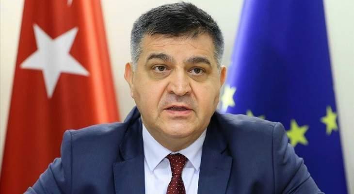 مسؤول تركي: لا يمكن لأي بلد التصدي لكورونا بإجراءات أحادية وتدابير الحماية الوطنية