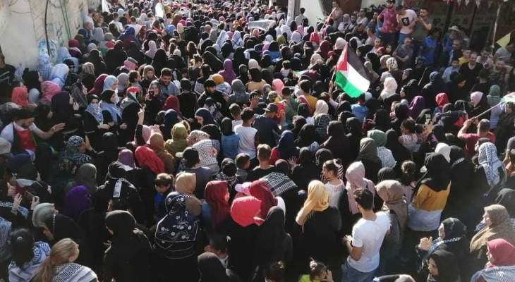 النشرة: مسيرة في عين الحلوة احتجاجا على قرار وزير العمل