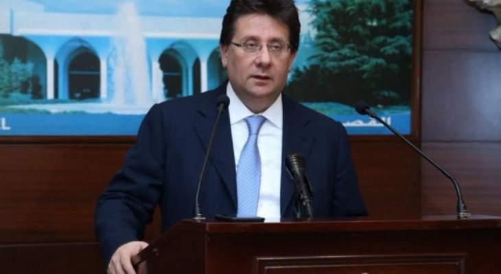 كنعان: كما خلقت الدينامية لإقرار خطة الكهرباء سيكون هناك دينامية لاقرار الموازنة
