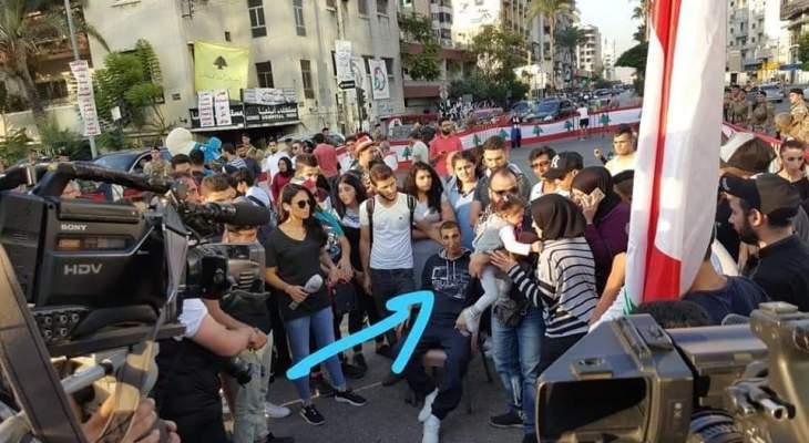 النشرة: وفاة هيثم رمضان الذي شارك بتظاهرات صيدا مطالبا الدولة بمساعدته بزراعة كبد