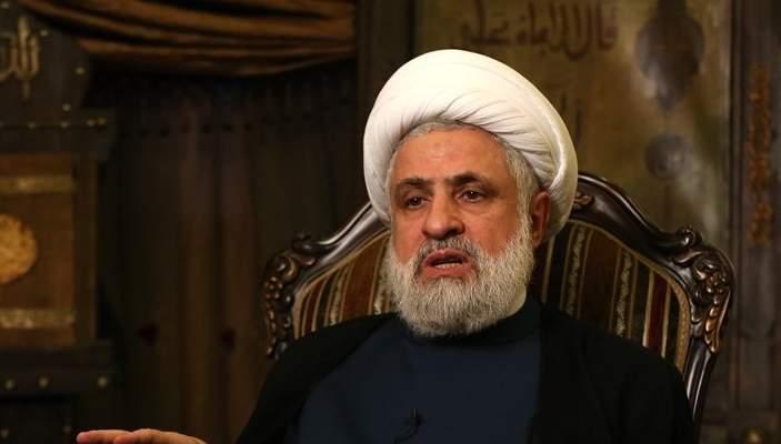 قاسم: أميركا تريد إنهاء المقاومة وهي تدير عملية تجويع لبنان ونحن دعاة بناء الدولة