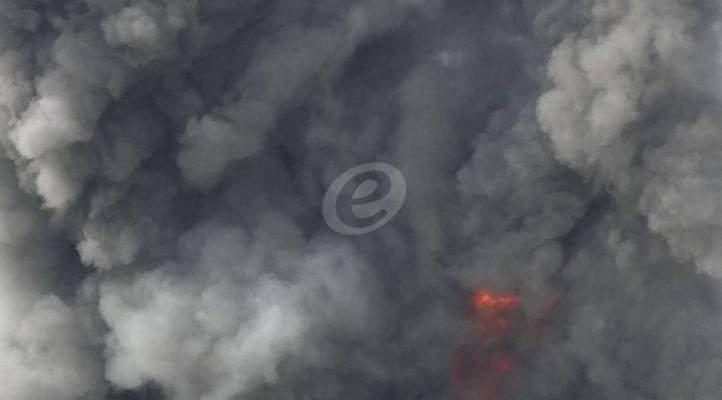 رئيس بلدية رومية اعلن اطفاء الحريق: لا اصابات والاضرار مادية